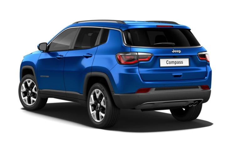 Jeep Compass SUV FWD 1.6 MultiJetII 120PS Night Eagle 5Dr Manual [Start Stop] back view
